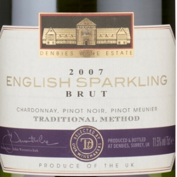 Sainsbury's English Sparkling brut '07