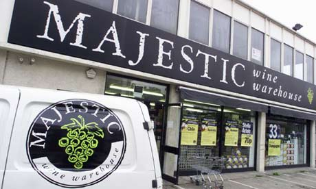 Majestic wine store
