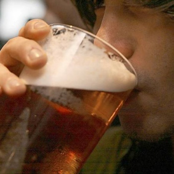 The number of underage people drinking is falling