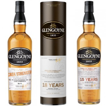 Three new malt whiskies from the Glengoyne distillery