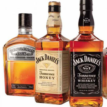 Jack Daniel's is the fifth most popular spirit