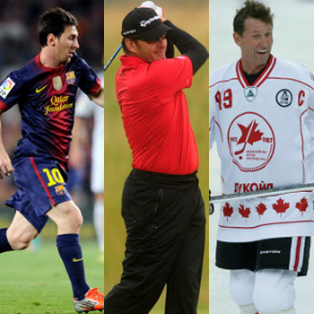 Lionel Messi, Nick Faldo and Wayne Gretzky have all linked themselves to wine.