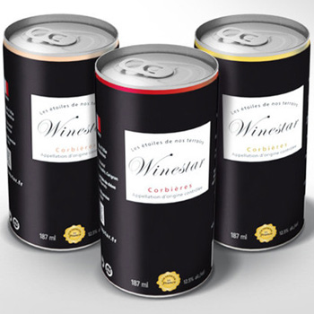 Winestar are releasing premium French wines in a can
