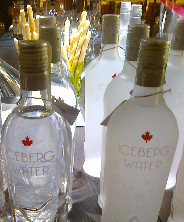Iceberg Water at Hedonism Wine Shop in London