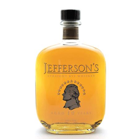 25cf90dffc9 Jeffersons 10 years old Rye