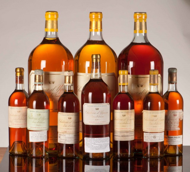 Harrods Sells Yquem Collection For 163 1m