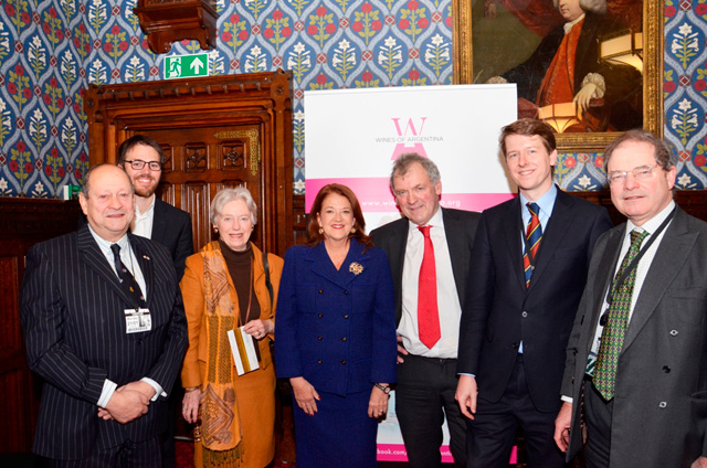 Argentine wine tasting at the Houses of Parliament 21 January 2013