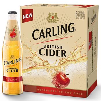 Carling cider