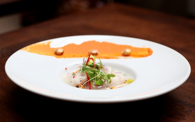 Sea bream ceviche