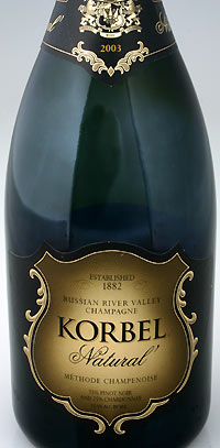 "Korbel Natural Russian River Valley ""Champagne"""