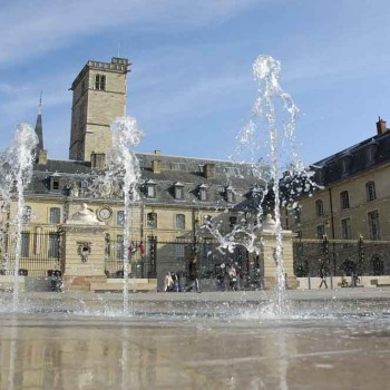 Dijon's town hall, once home to the Dukes of Bourgogne