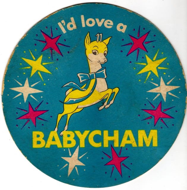 The iconic Babycham logo