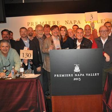 Napa Valley Premiere tasting