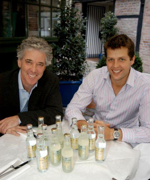 Fever-Tree founders Charles Rolls and Tim Warrilow