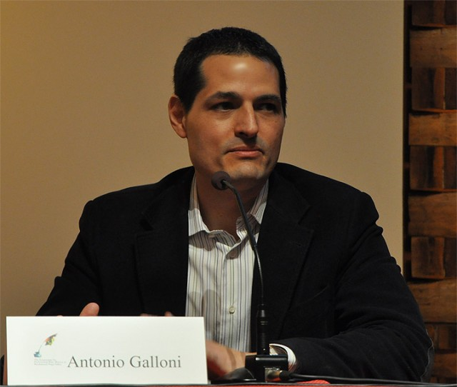 Striking out: Antonio Galloni