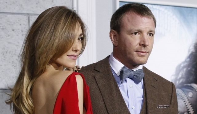 Guy Ritchie and fiancée Jacqui Ainsley