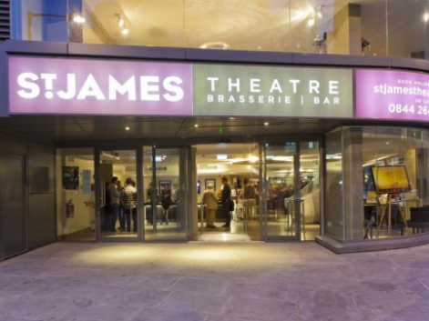 The recently opened St James Theatre in London