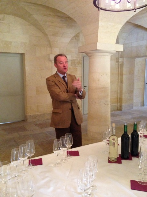 Paul Pontallier gave db a preview of Margaux 2012 last week