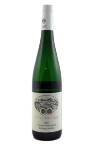 Peter Nicolay Mosel Half-dry Riesling 2011