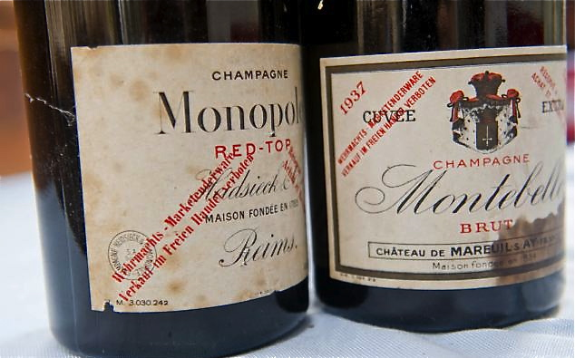Champagne seized by Nazis to be auctioned