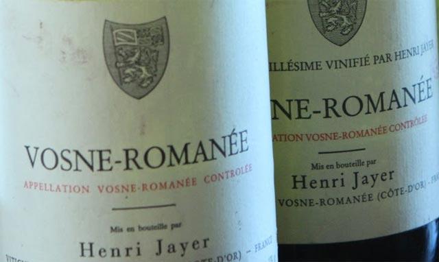Henri Jayer Vosne-Romanee