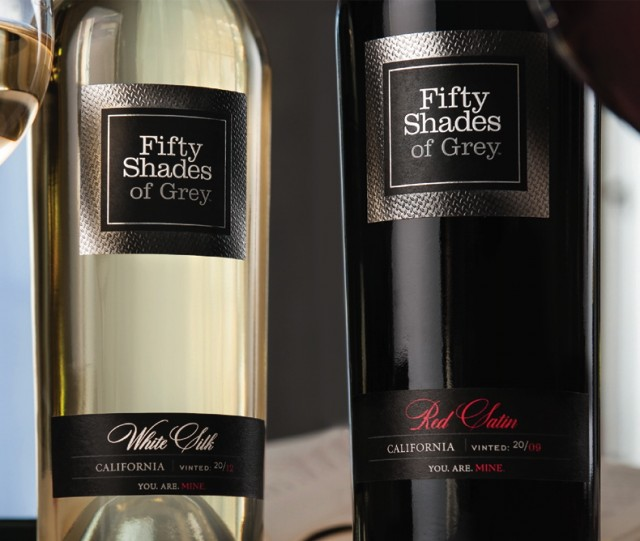 50 Shades of wine - E L James has launched a wine range based on her erotic trilogy