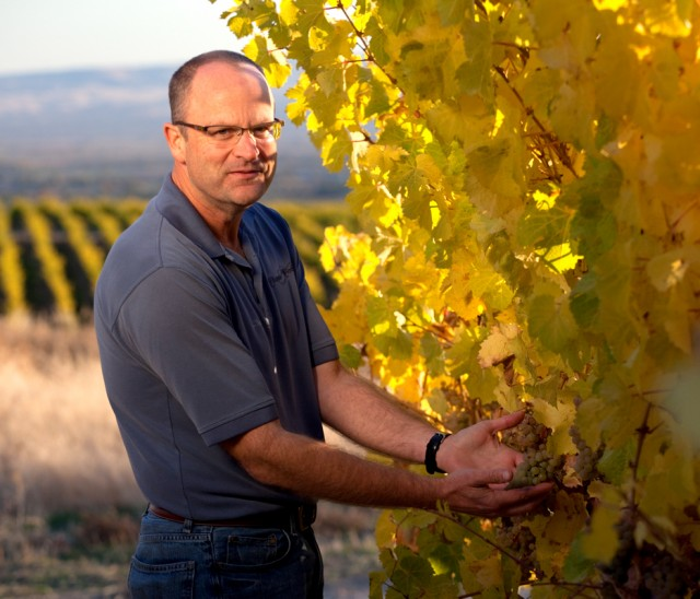Bob Bertheau, senior director of winemaking at Chateau Ste Michelle