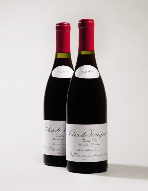 Lot 107 Clos de Vougeot 1988 copy