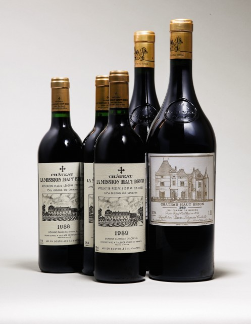 Lot 3 Chateau Haut Brion 1989 & Lot 10 Chateau La Mission Haut Brion 1989 copy