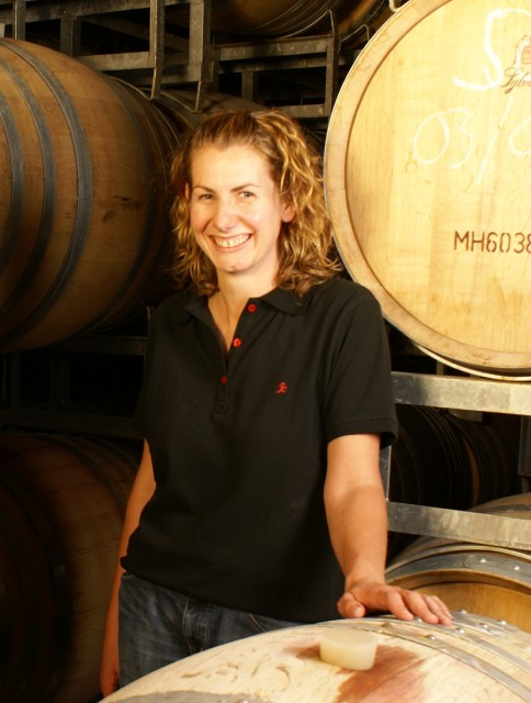 Nadine Worley, winemaker at Mud House