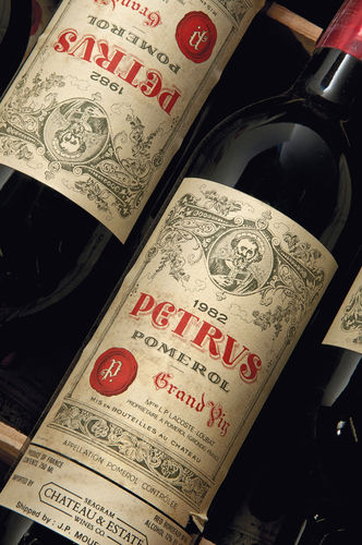 A case of Pétrus '82 sold for £38k