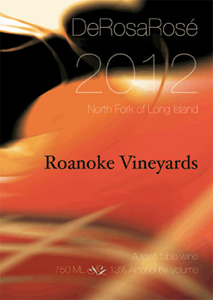 Roanoke Vineyards rosé
