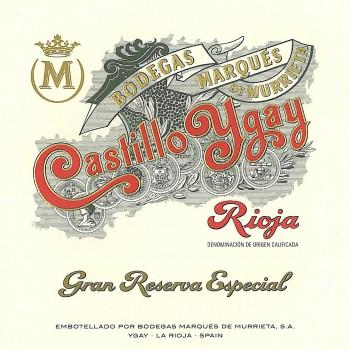 Marques de Murrieta Castillo Ygay
