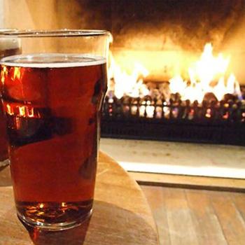 Fireside beer