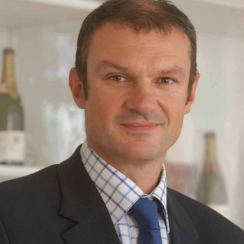 Laurent d'Harcourt, new managing director of Pol Roger, who has instigated this change in policy