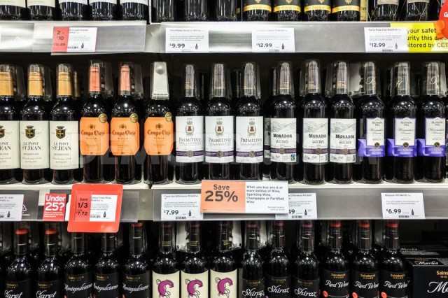 60% of supermarket wines are sold on promotion