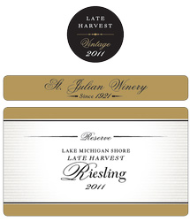 St. Julian Late Harvest Reserve Riesling 2012
