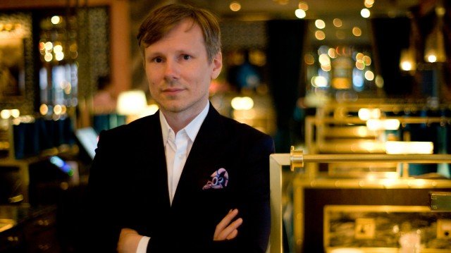 Russian restaurateur Leonid Shutov