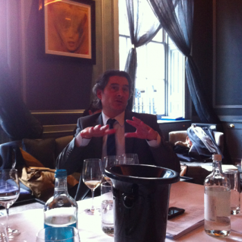 Benoit Gouez, Moët & Chandon cellar master, introduces the 2006 vintage