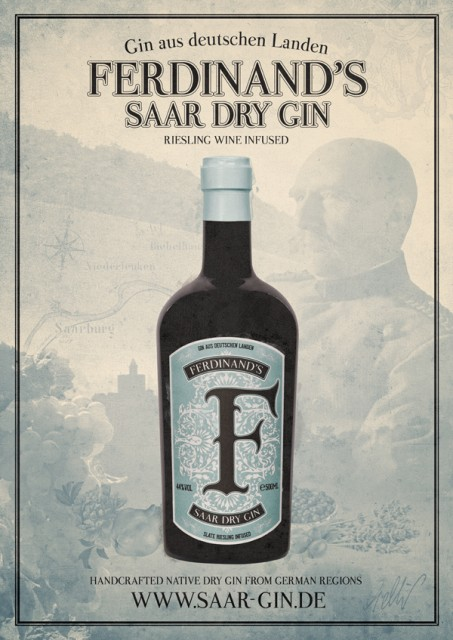 Ferdinand's releases wine-infused gin