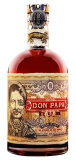 Don Papa 70cl bottle white