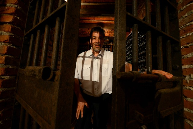 8 Dario Werthein owner of the Riglos Winery in his cellar