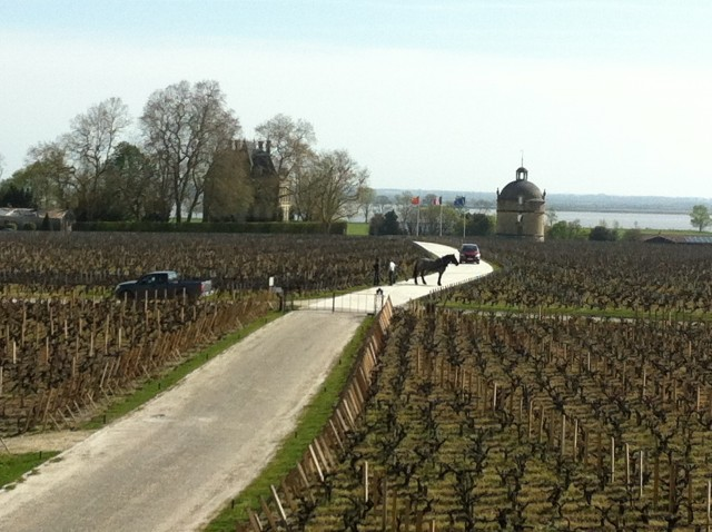 Traffic jam at Latour