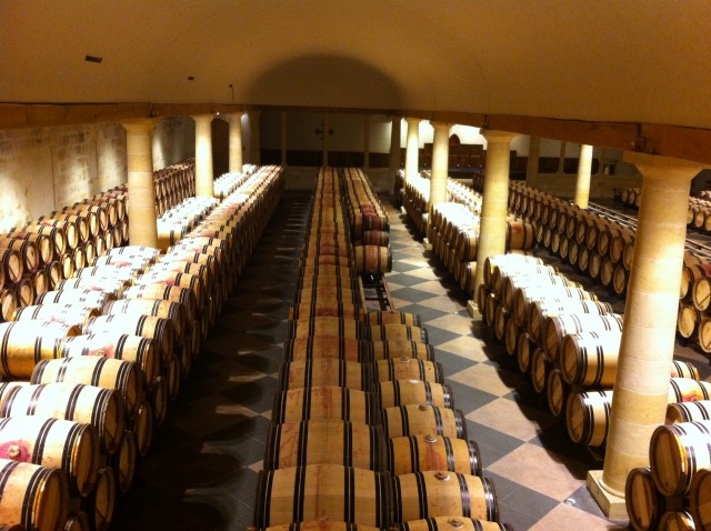 Cellars at La Mission Haut Brion