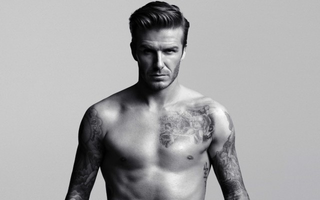 From x to x, David Beckham has branched out into whisky. Photo credit: H&M