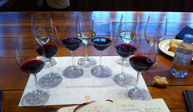 Tasting at La Mission Haut Brion