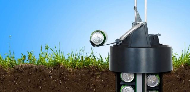 Eco Cooler Chills Your Beer Underground