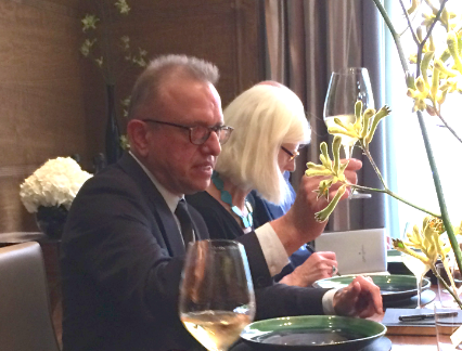 Dom Pérignon cellar master toasts the impending 1998 P2 release over lunch at Fera in Claridges, London