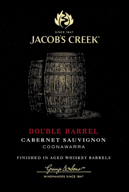 Jacobs Creek double barrel Cab