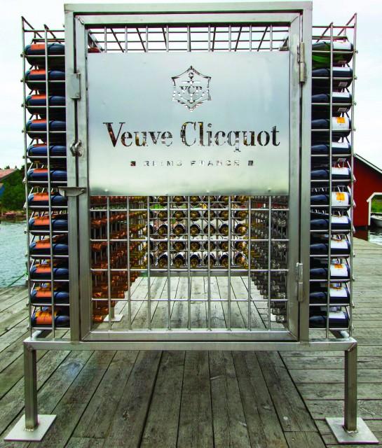 Veuve Clicquot Cellar in the Sea